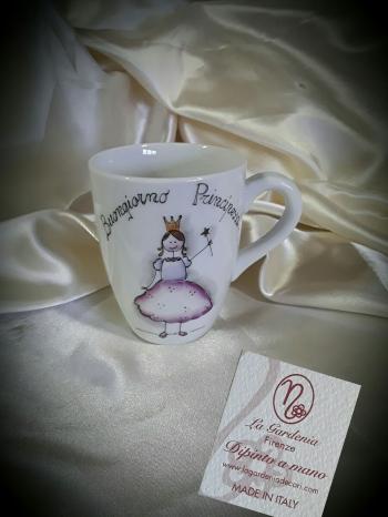 Tazza mug Buongiorno principessa