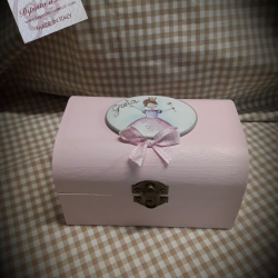 Bauletto rosa principessa