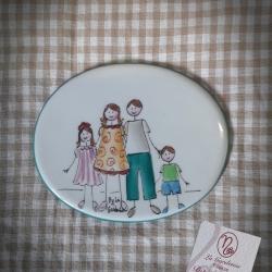 Quadretto famiglia 4 soggetti