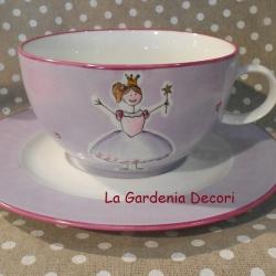tazza da colazione con principessa