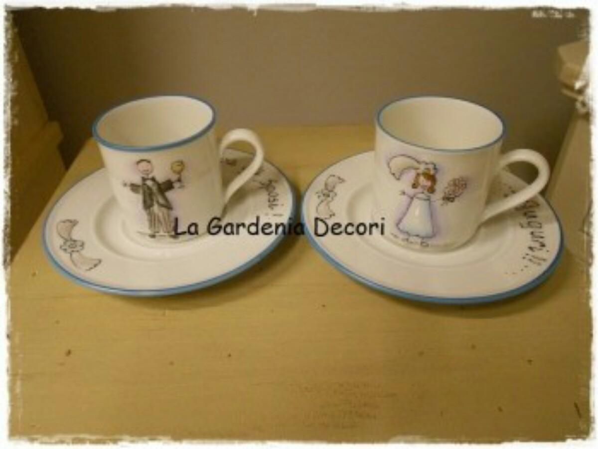 Tazze Da Te Personalizzate cosa regalare agli sposi: set tazzine da caffè